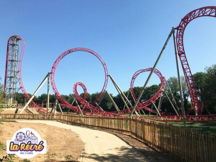 Vertika, un roller coaster à sensations