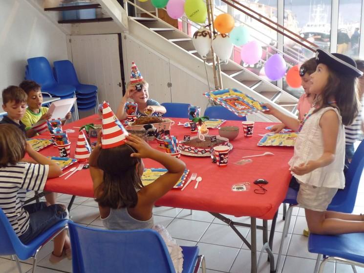 Fête ton anniversaire à Haliotika