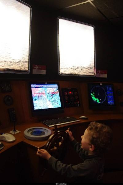 Capitaine du bateau
