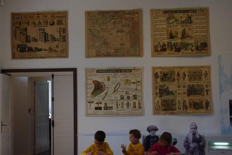 Salle de classe 1910