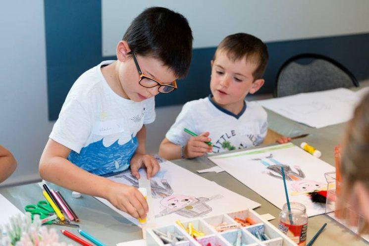 Des visites-ateliers pour les enfants
