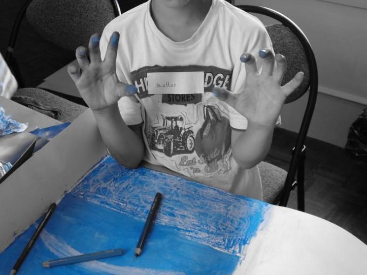Le bleu, on en met partout