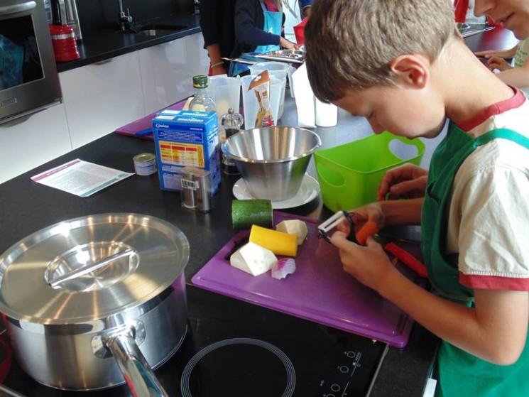 Le couscous par les enfants