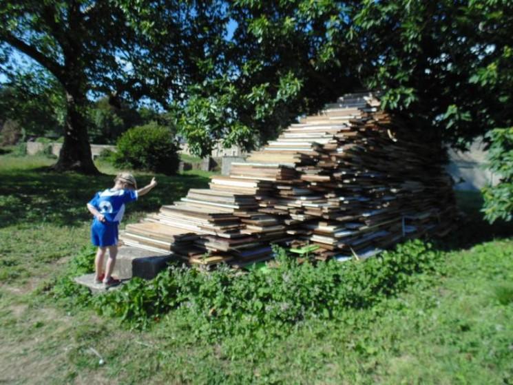 Un drôle d'escalier, expo