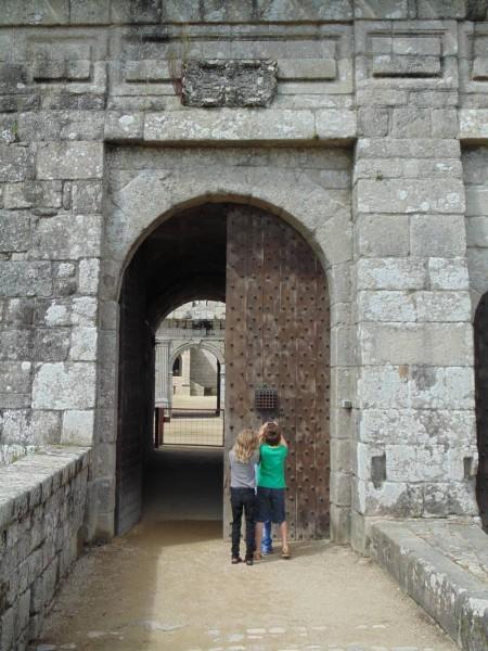 Château de Kerjean en famille