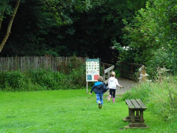 Balade dans le parc de l'Abbaye du Relec