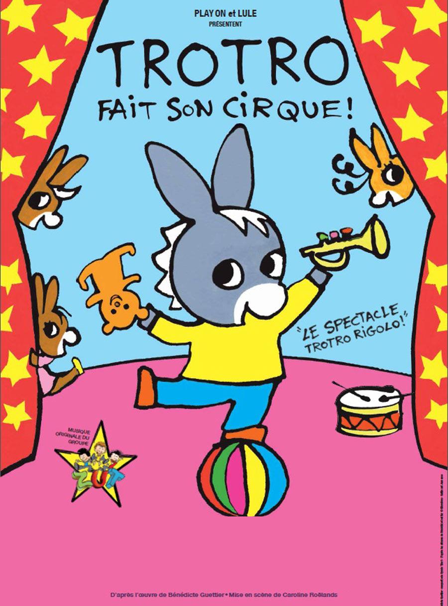 Trotro fait son cirque r cr atiloups finist re - Trotro fait de la musique ...