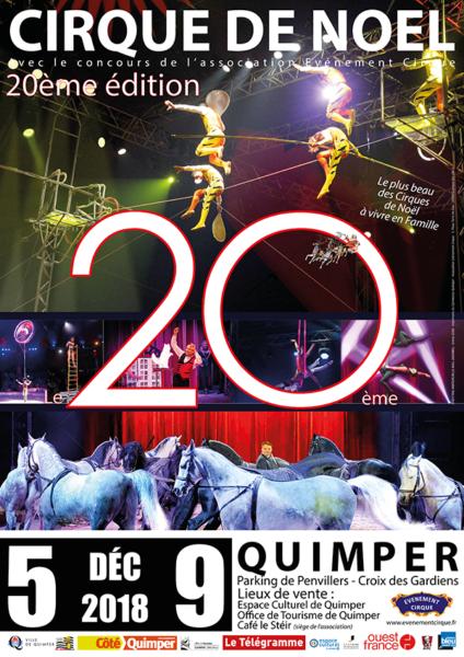 Cirque de Noël à Quimper