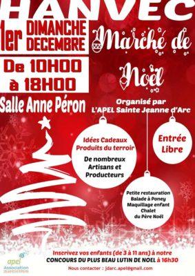 Marché de Noël à Hanvec