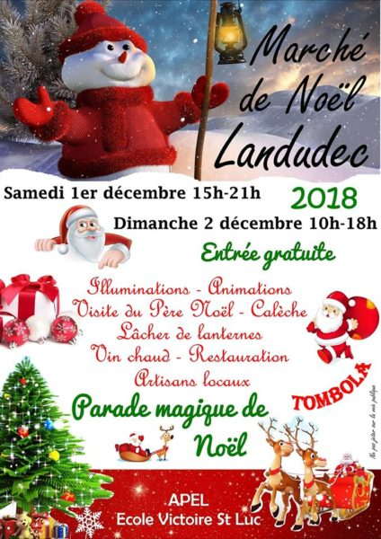 Marché de Noël de Landudec