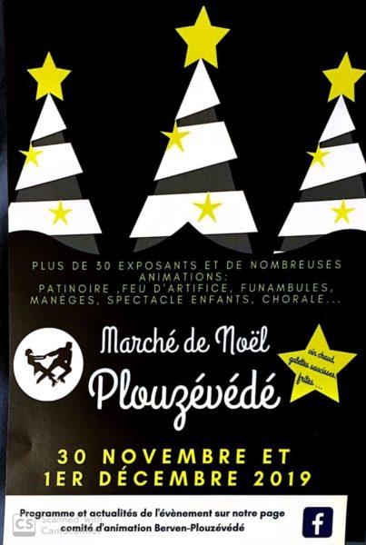 Marché de Noël à Plouzévédé