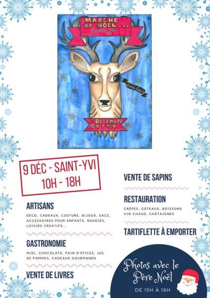 Marché de Noël à Saint-Yvi