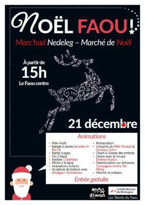 Marché de Noël au Faou