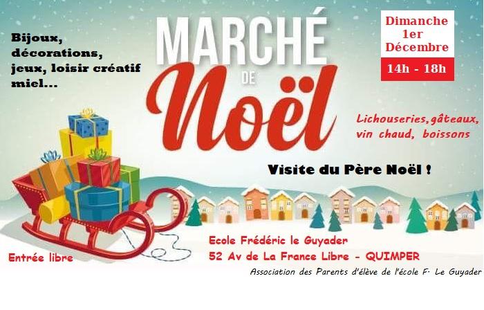 Marché de Noël à Quimper