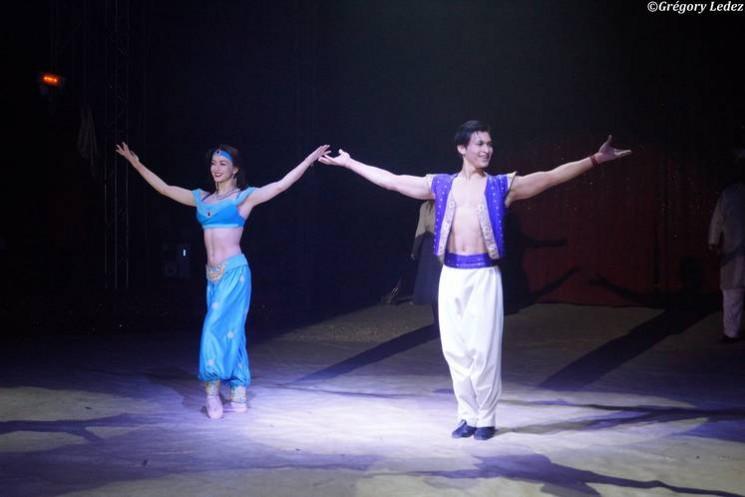 Nouveau spectacle : Aladin...