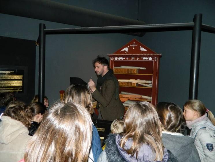 Accueil au scriptorium