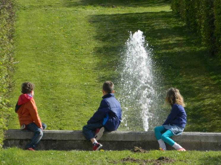 Fascinés par les fontaines...