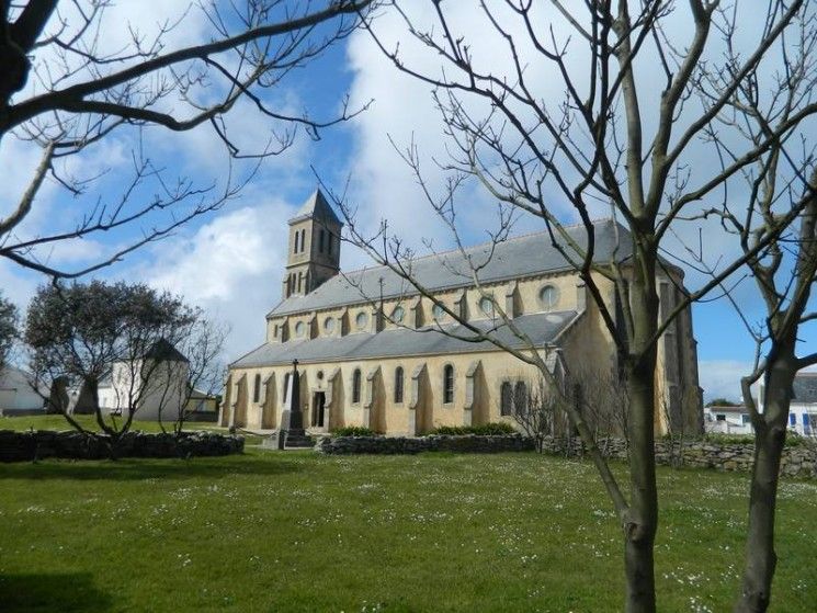 L'église de l'Ile de Sein
