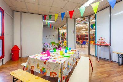 Salle anniversaire d'enfant