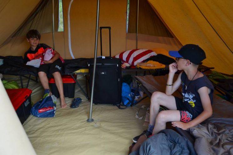 Séjour EPAL sous la tente