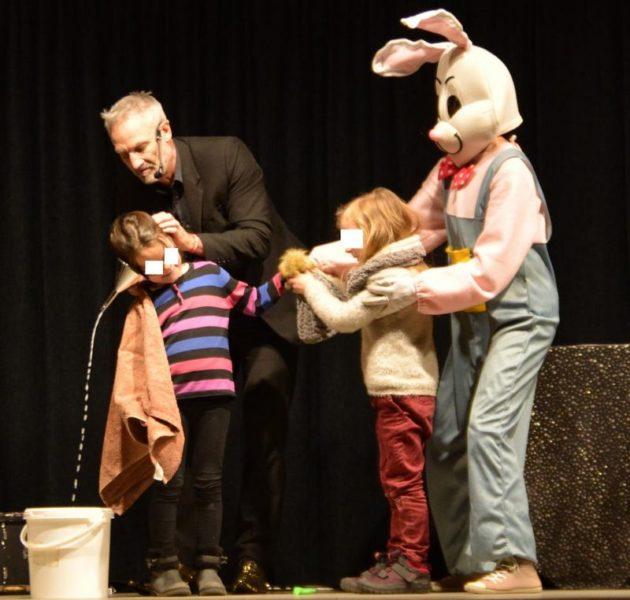 Animation magie avec les enfants