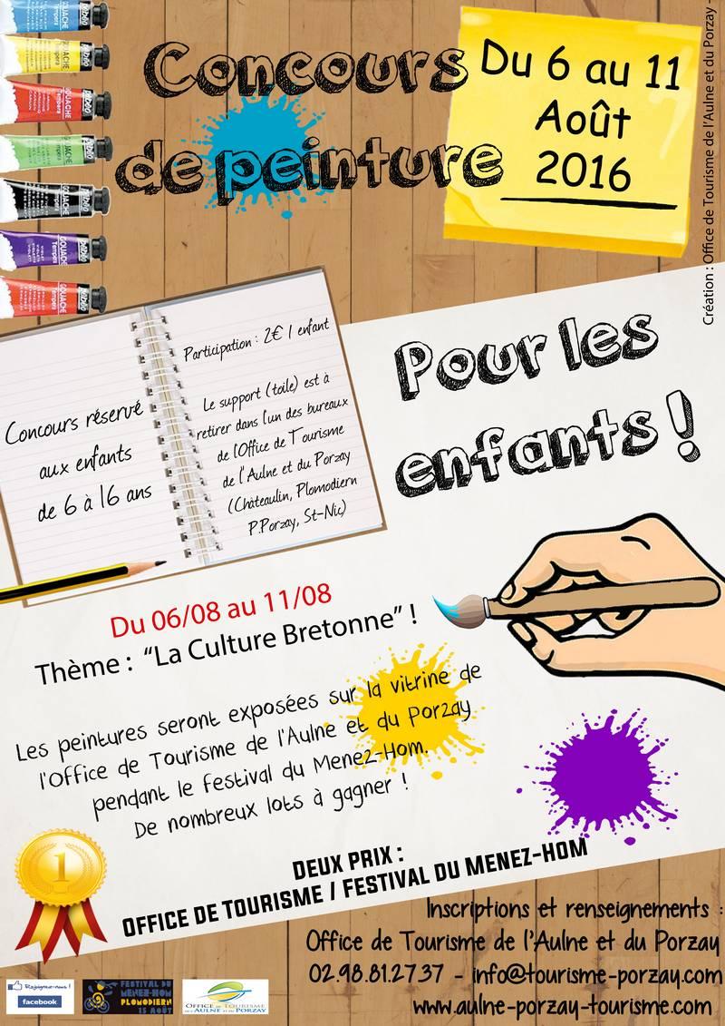 Concours de peinture pour les enfants - Récréatiloups Finistère