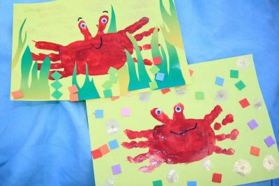 activite-enfant-crabe-collage
