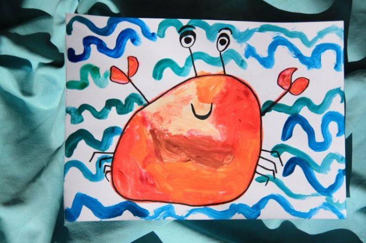 Un joli crabe par Baséphine