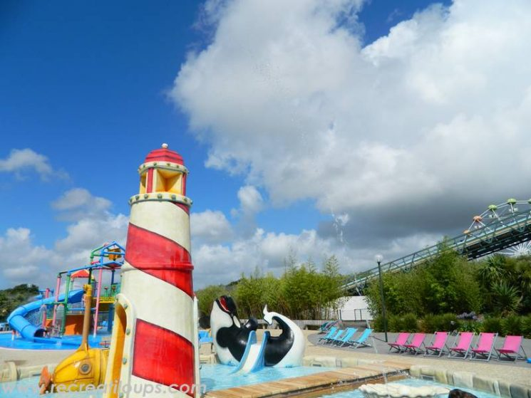 Jeux et baignade à Aquatico
