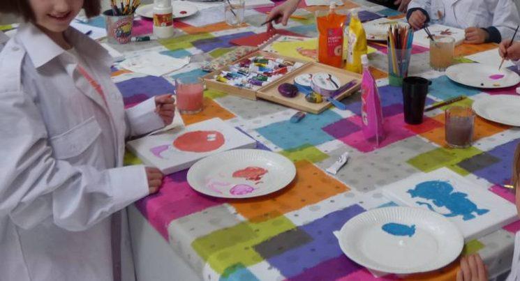 Des ateliers créatifs pour les enfants