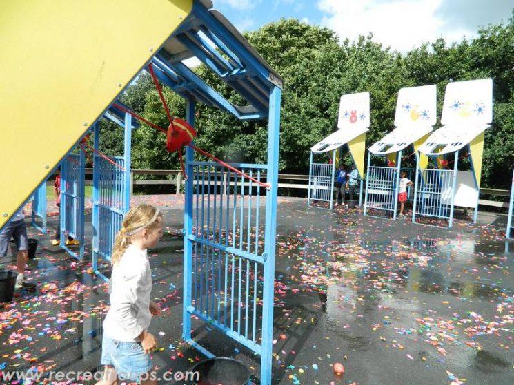 La bataille d'eau : action les enfants !