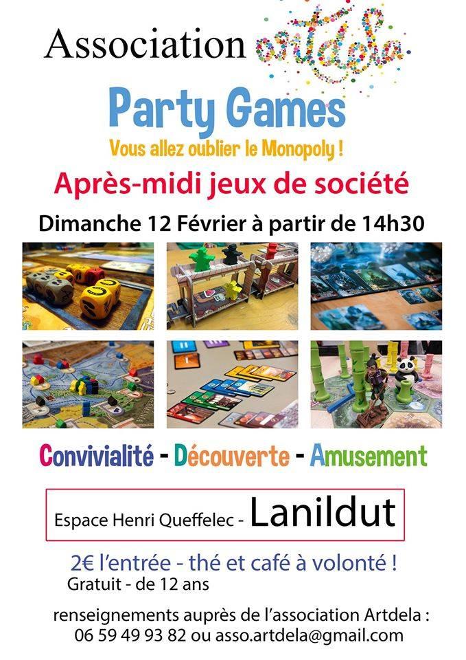 Party games apr s midi jeux de soci t r cr atiloups - Jeux des 12 coups de midi gratuit ...