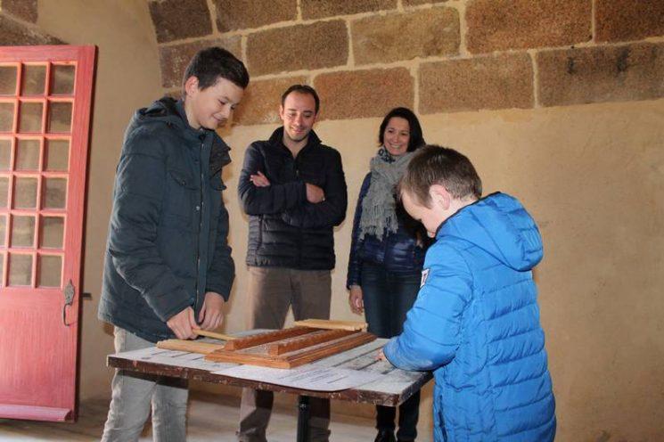 Jeux en bois au Château du Taureau