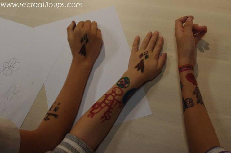 Mes tatoués