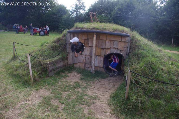 Cabane enfant à Pont-Aven