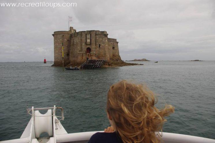 Château du Taureau en vue
