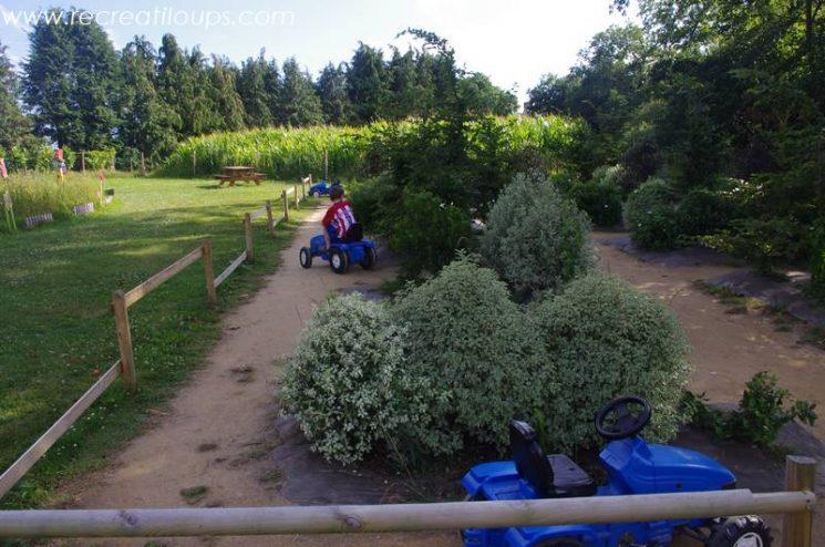 Parcours de tracteurs