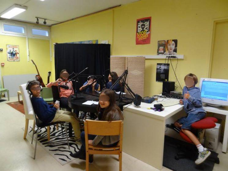 Ateliers web-radio pour les ados