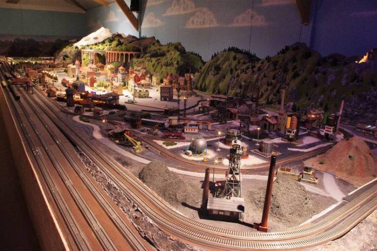 Musée animé du train miniature en Bretagne