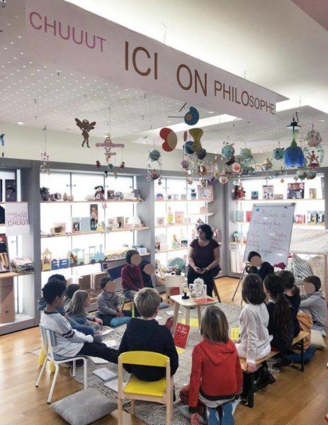 Ateliers philo enfants avec L'écume