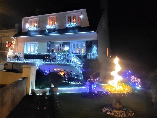 Maison illuminée Brest