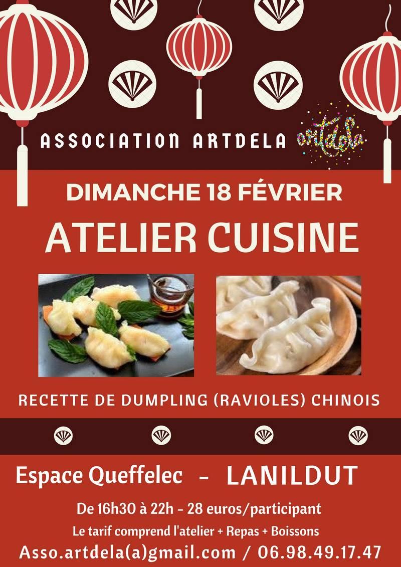 Atelier de cuisine chinoise - Récréatiloups Finistère !