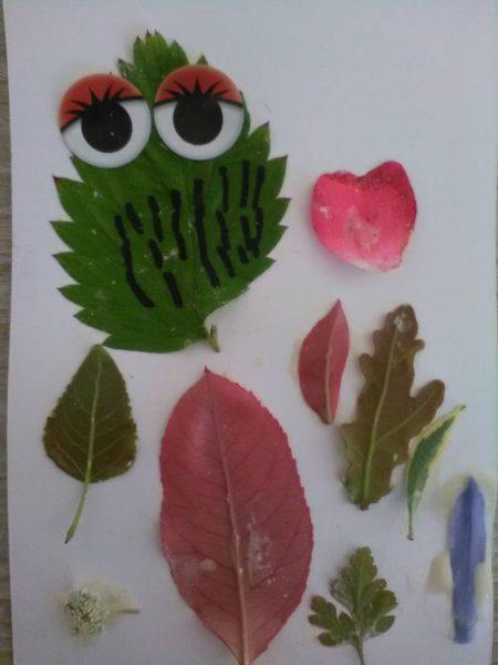 Atelier enfants - Animaux en feuilles