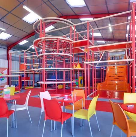 Parc de loisirs couvert pour les enfants