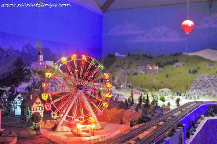 Musée animé du train miniature