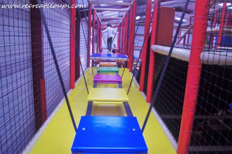 Parcours accrobranche à Ty Circus Quimperlé
