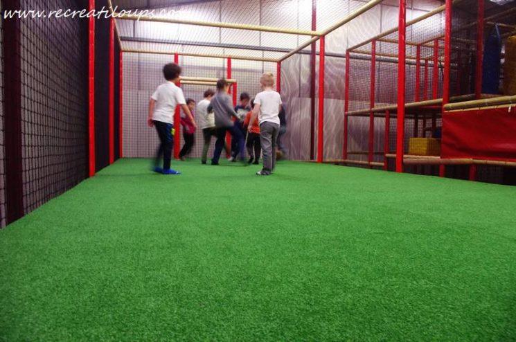 Terrain de foot à Ty Circus Quimperlé