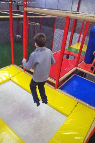 Espace trampolines à Ty Circus