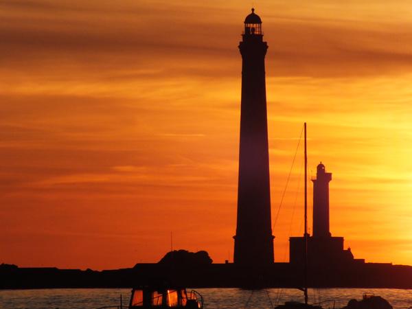 L'île mystérieuse, visites du phare en soirée