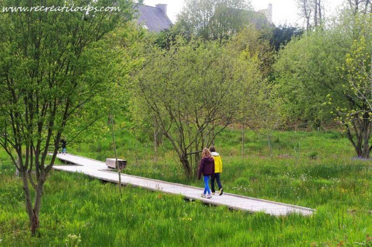 Balade à pied au Vallon de Milin-Nevez